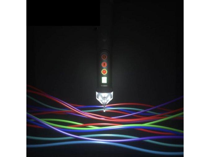 Detektor elektrického napětí