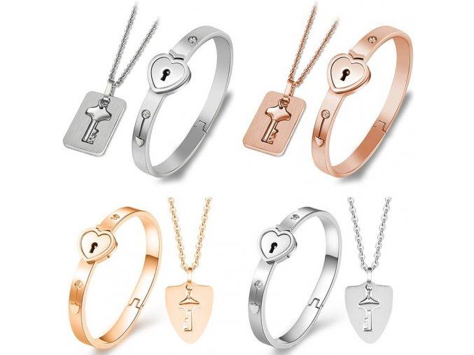 Set šperků pro zamilované