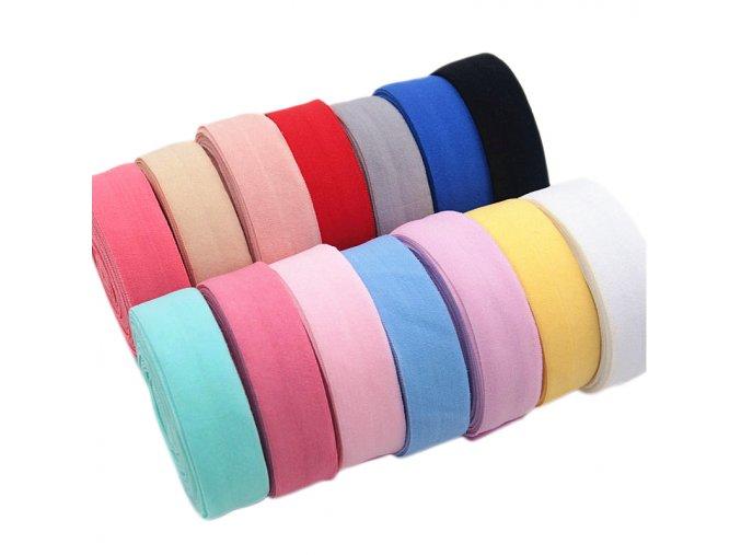 Široká guma na šití