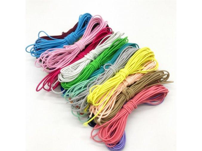 Kulatá barevná gumička