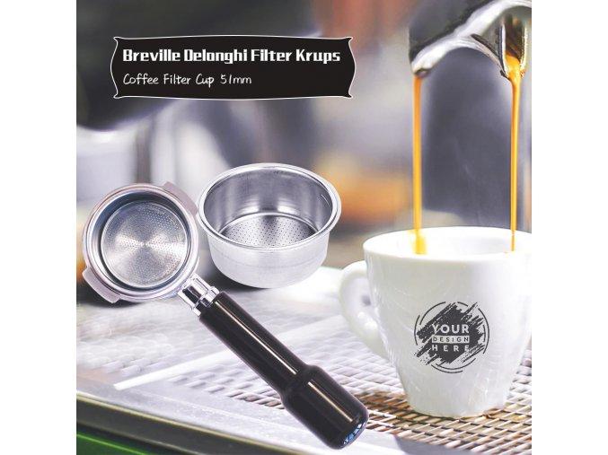 Kávový filtrační kelímek