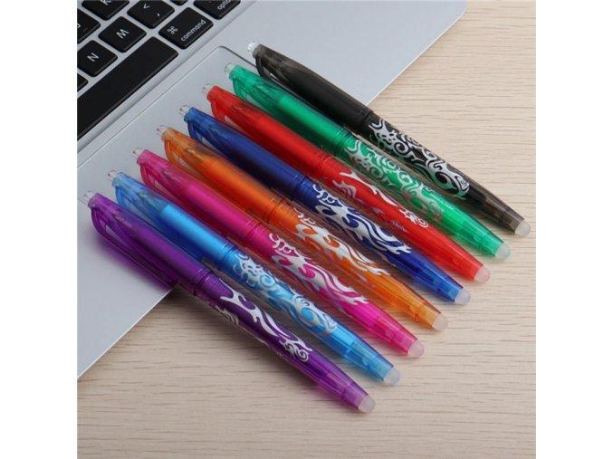 Gumovací pero - 8 kusů