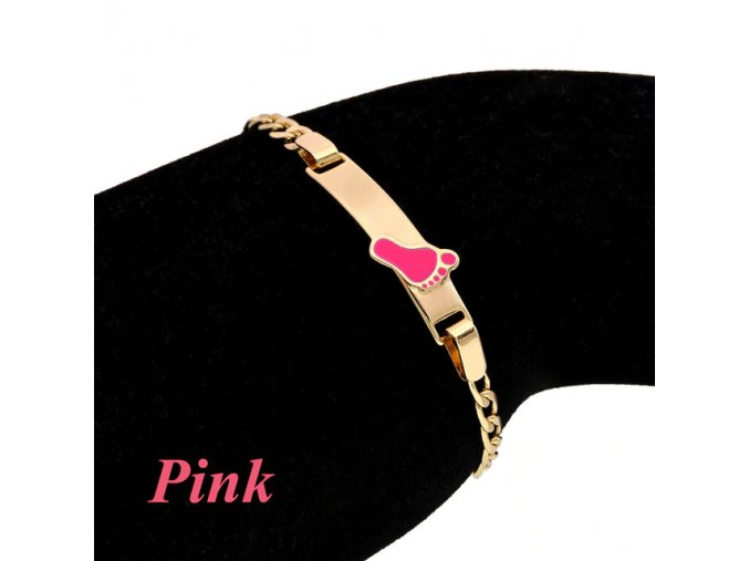15 variant pink heart bracelets for little baby girl bracelet kids jewelry christmas gift baptism armband gold pulsera bebe pulceras b0929