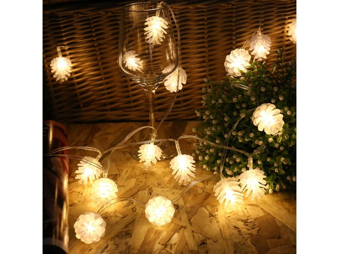 9 variant 3m 20 rattan ball string lights garland led lights decoration christmas decorations for home decor new year decorationq