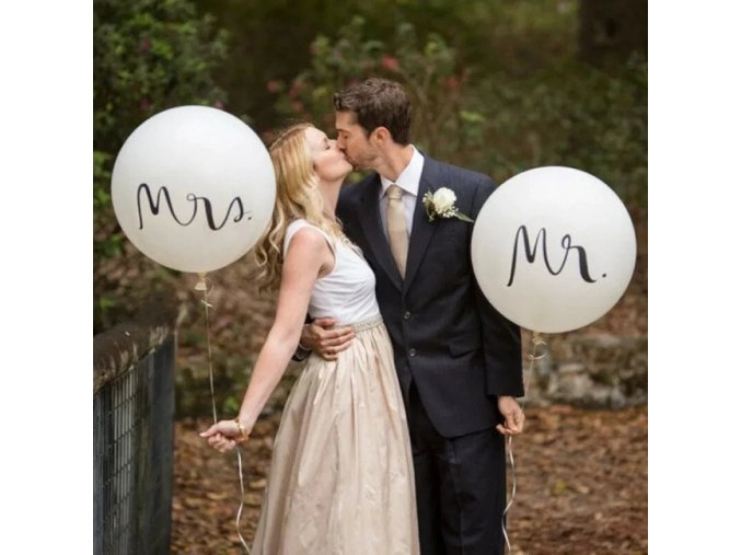 0 main big size 36inch mr mrs white latex balloons for wedding partybridal bride to be engaged party air globos wedding ballons decor