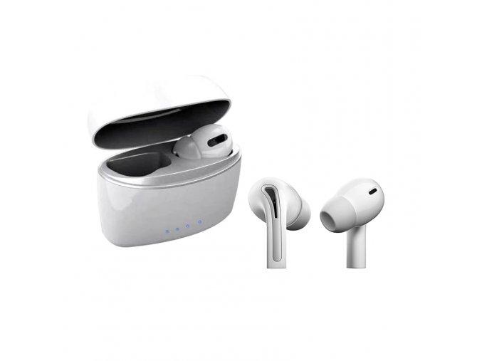 Bezdrátová bluetooth sluchátka s nabíjecí stanicí A3