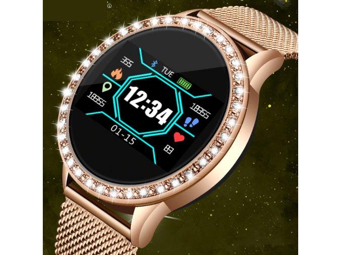 Dámské chytré bluetooth hodinky LIGE5PS