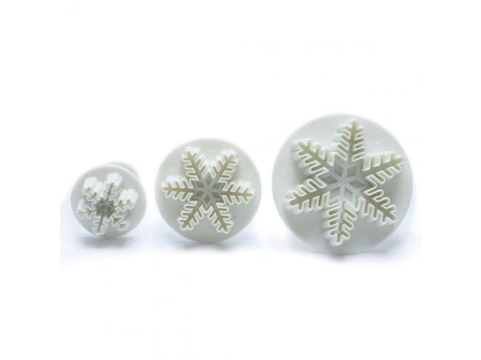 Cukrářská dekorativní sněhová vločka