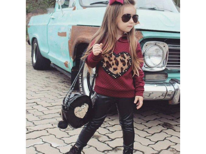 Dívčí podzimní souprava oblečení