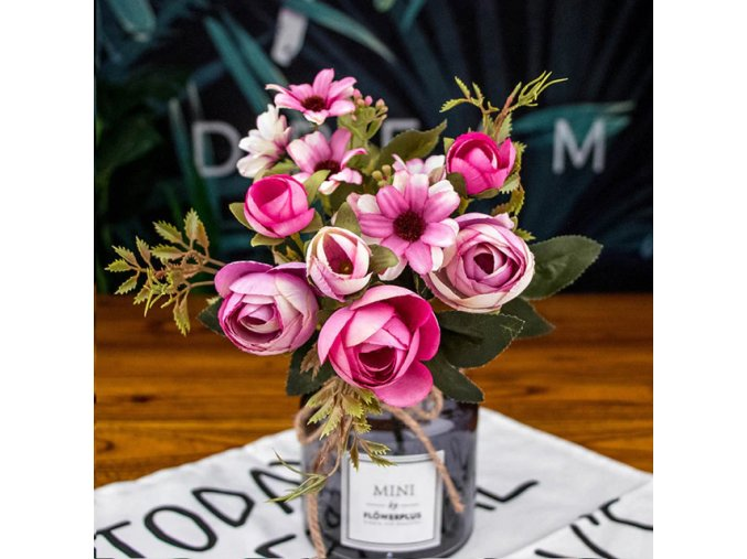 Umělá kytice ROSE