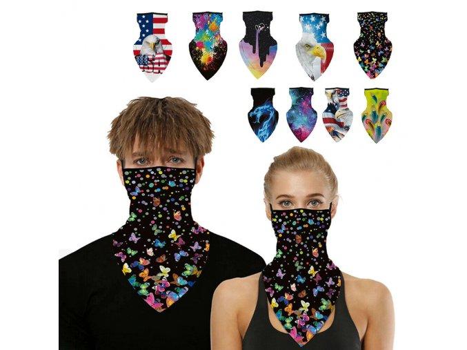 Cyklistický ochranný šátek OUTDOOR
