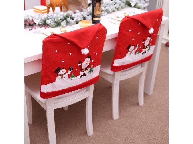 Vánoční potahy na židle CHRISTMAS