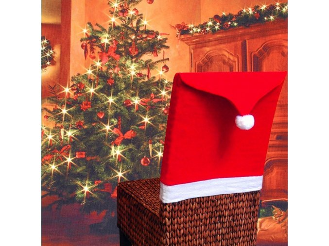 mainimage51PC Non woven Chair Cover Christmas Decoration for Home Table Dinner Chair Back Decor New Year