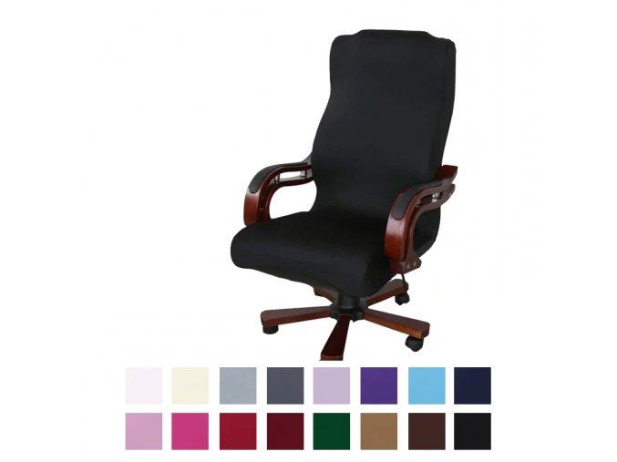 Natahovací potahy na kancelářskou židli
