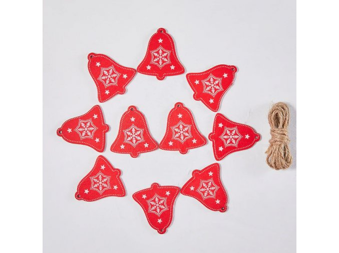 12 variant with rope 10pcslot 5cm new year natural wood christmas ornaments pendants hanging gifts xmas tree decor home decoration 62082