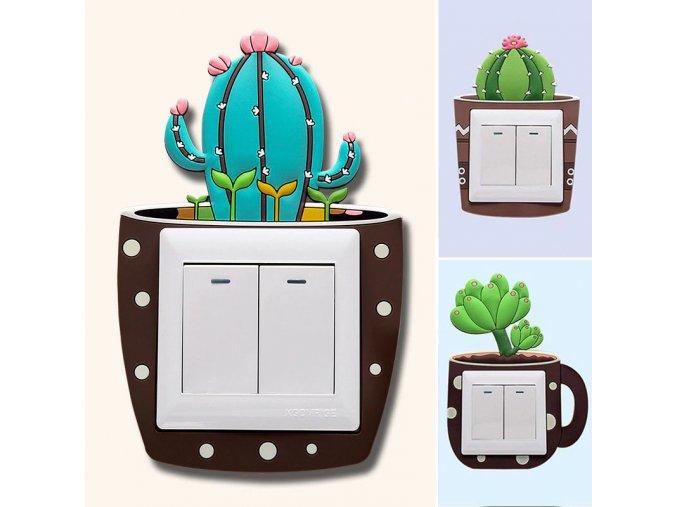 Vypínač s kaktusem