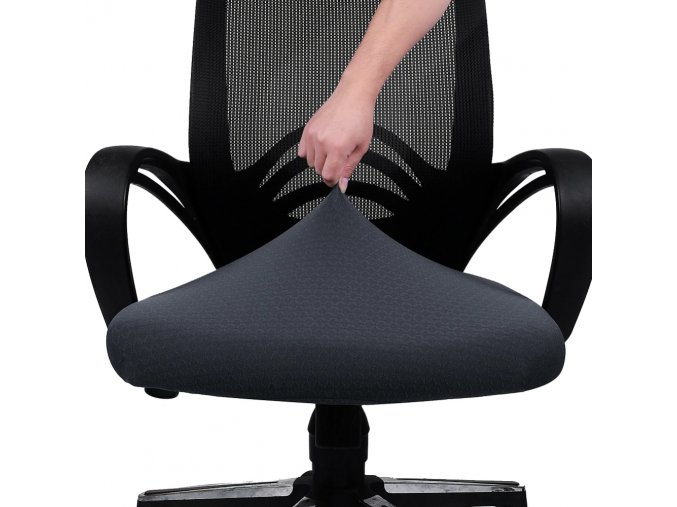 0 main kitchen office stretch chair cover solid seat protector covers elastic seat case dining computer chair slipcover living room