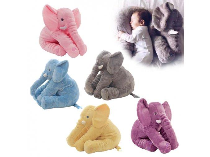 0 main 4060cm fashion baby animal plush elephant doll stuffed elephant plush soft pillow kid toy children room bed decoration toy gift