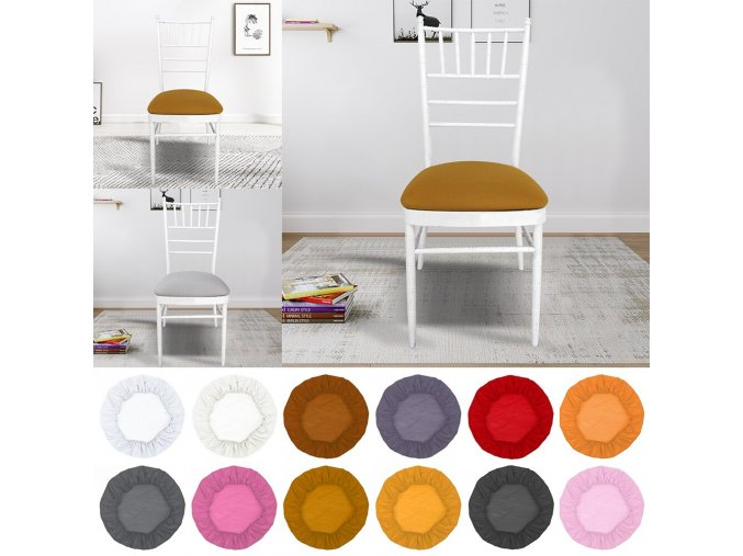 0 main junejour removable spandex elastic chair hood seat covers dining room wedding banquet chair covers decor washable slipcover