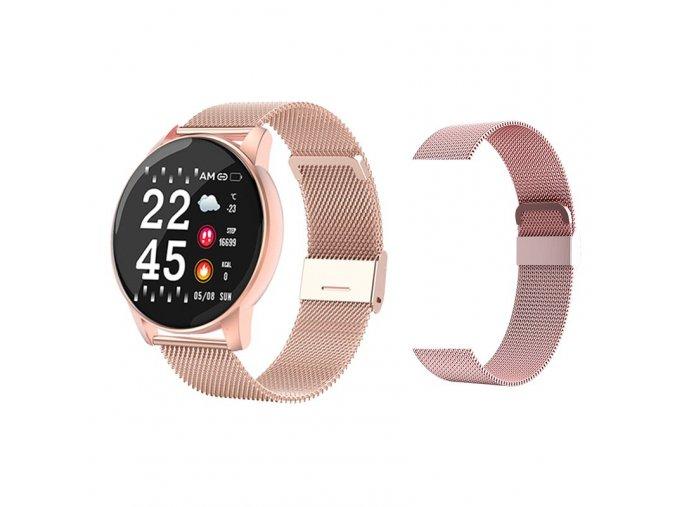 variantimage5Smart Watch Round Sports Waterproof Smartwatch Men Women Fitness Tracker Blood Pressure Monitor SmartWatch Clock fo