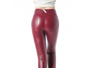 Dámské koženkové kalhoty (barva černá, Velikost S)