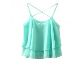 Dámský letní top (barva Zelená)