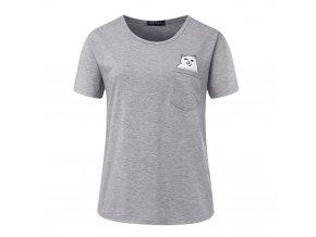 Dámské tričko s vtipným potiskem (barva Bílá, Velikost S)