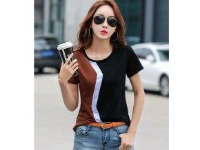 Dámské tričko s krátkým rukávem (Varianta 1, Velikost M)