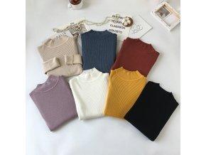 dámský jarní svetr (barva Bílá)