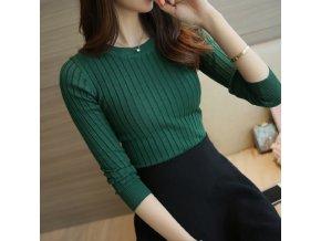 Dámský svetr (barva Zelená)