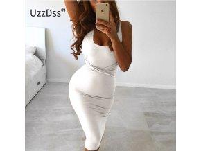 Dámské luxusní šaty (barva šedá, Velikost L)