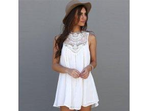 jarní elegantní šaty (Velikost S)