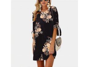 stylové dámské šaty (Varianta 1, Velikost S)
