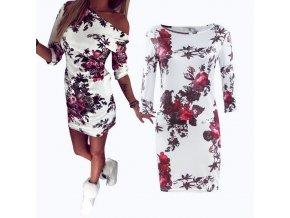Dámské šaty na jedno rameno (Velikost S)