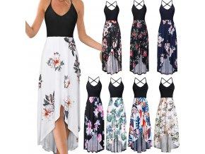 Dlouhé letní šaty (Varianta 2, Velikost S)