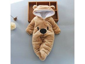 Dětská kombinéza medvídek