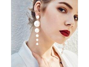 Dámské náušnice z perel