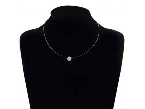 Dámský jemný náhrdelník