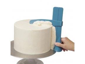Stěrka na zdobení dortu