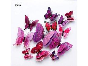 Domácí dekorace motýlci