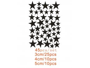 Nalepovací sada dekorativních hvězdiček