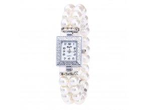 Dámské perlové hodinky