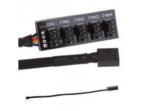 Procesorový adaptér pro přívod chladicího ventilátoru CPU
