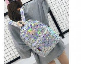 Dámský holografický batoh