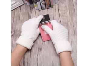 Zimní rukavice pro chytrý telefon