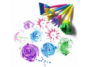 Kreativní štětce pro děti