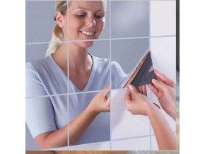 Nalepovací zrcadlová fólie - 9 ks