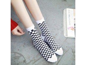 Kostkované ponožky