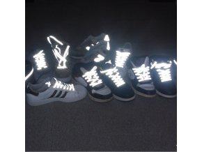 Reflexní tkaničky do bot