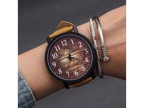 Dámské hodinky s vintage ciferníkem